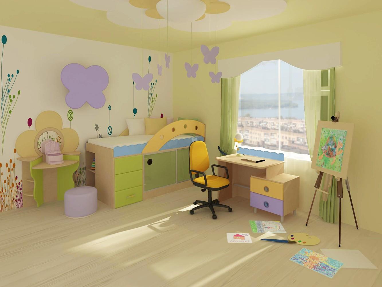 Выбираем мебель для детской комнаты: варианты для мальчиков и девочек